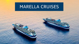 £100 Off Bookings Plus Free Cabin Upgrades on Selected Cruises at Marella Cruises