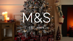 3 for 2 on Selected Christmas Gifts and Decorations at Marks & Spencer