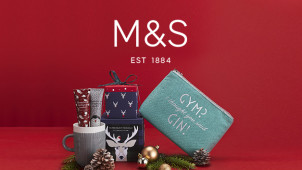 3 for 2 on Selected Christmas Gifts at Marks & Spencer