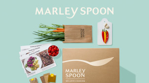 $15 Off your First Box Order, $10 Off Second Box Order & $10 Off Third Box Order at Marley Spoon