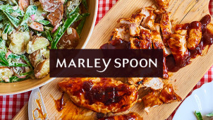 €25 Korting op je Marley Spoon Maaltijdbox
