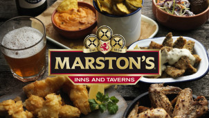 20% Off Food During Stays at Marston's Inns and Taverns