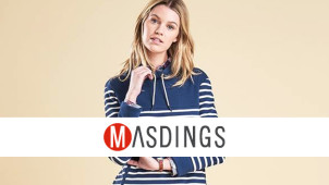 10% Off First Orders at Masdings
