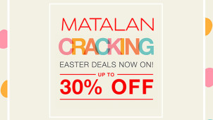 Up to 30% Off Easter Cracking Deals at Matalan