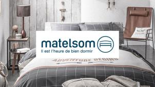 15€ offerts à partir de 150€ de commande chez Matelsom