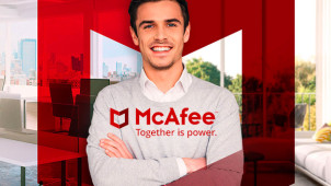 -50% de réduction sur le logiciel Total Protection chez McAfee