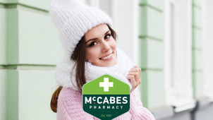 Buy One Get One Half Price on Selected Orders at McCabes Pharmacy