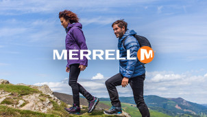 15% Off Orders Over £115 at Merrell