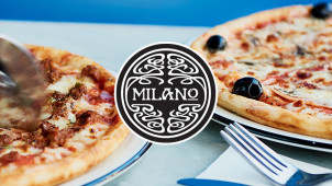 25% Off Food Orders at Milano