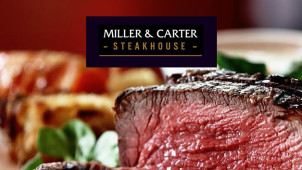 2 Courses from £10.95 on the Set Lunch Menu at Miller & Carter