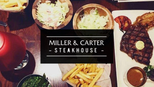 Fixed Price Lunch Menu from £7.95 at Miller & Carter