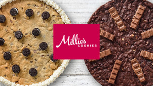 Free Delivery with 2 or More Cookie Orders at Millie's Cookies