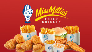 2 for 1 on Chicken in a Bun at Miss Millies