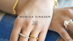 15% Off Orders with Newsletter Sign-Ups at Monica Vinader