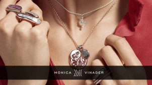 Enjoy 30% Off in the Black Friday Event at Monica Vinader