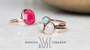 10% Off First Orders at Monica Vinader