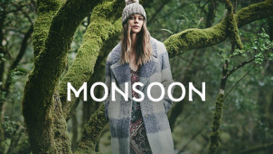 Free Delivery on Orders Over €75 at Monsoon