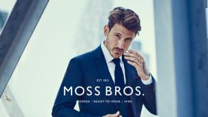 15% of New Season Orders at Moss Bros