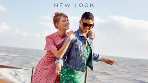 Up to 60% Off Fashion, Footwear, Bags and Accessories in the Seasonal Sale at New Look