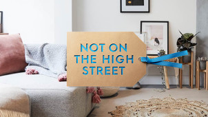 Free Delivery on Selected Orders at notonthehighstreet.com