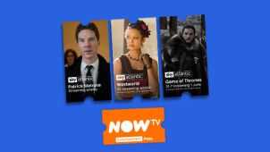 2 Months of the Entertainment Pass for the Price of 1 Plus £5 Tesco Gift Card at NOW TV
