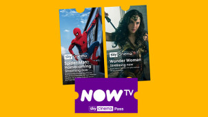 40% Off the Sky Cinema Pass at NOW TV