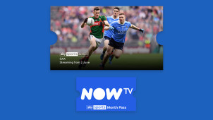 60% Off Sky Sports Monthly Pass, €20 Per Month for Up to 3 Months at NOW TV