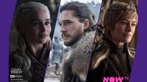Game of Thrones S8 -  40% Off 3 Months Entertainment Pass Plus 14 Day Free Trial at NOW TV