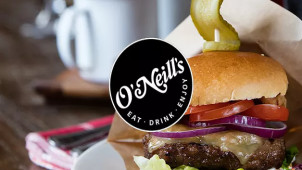 £5 Off Your Food Bill with Newsletter Signups at O'Neill's Pub & Grill