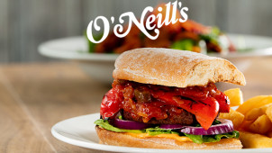 £5 Off Your Food Bill Over £10 at O'Neill's Pub & Grill
