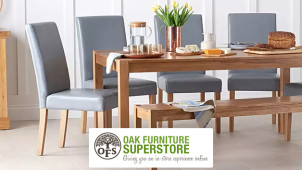 £15 Gift Card with Orders Over £500 Oak Furniture Superstore
