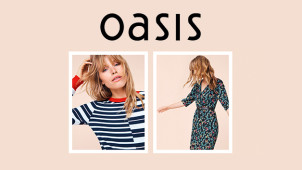 Get 20% Off Full Price Items Online at Oasis