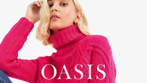 €10 Off Orders Over €60 with Newsletter Sign-ups at Oasis