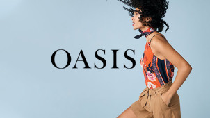 30% Off Selected Styles at Oasis