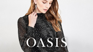 20% Off Orders plus Free Delivery at Oasis