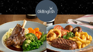 Buy 1 Get 1 Free on Mains at Old English Inns
