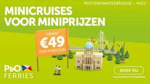 Boek je Noord Zee minicruise naar Hull, York of Leeds al vanaf €49!