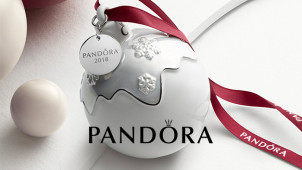 Free Limited Edition Christmas Ornament on Orders Over £99 at PANDORA