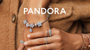 3 for 2 Deal on Selected Jewellery at Pandora - Mother's Day