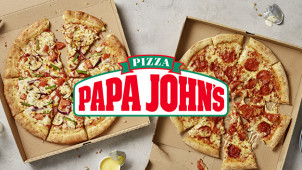 25% Off Orders Over £25 at Papa John's