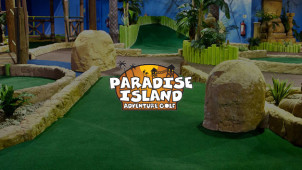 25% Off Admission at Paradise Island Adventure Golf