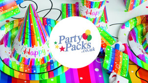 10% Off Plus Free Novelty Pack on Orders Over £100 at Party Packs