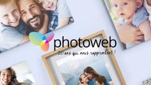 Nouveaux clients  -50% offerts sur les Tableaux Photo sur Photoweb