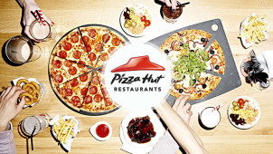 £14.99 Starter, Main, Unlimited Salad and Drink Christmas Meal Deal at Pizza Hut Restaurants