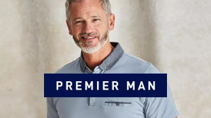 15% Off Orders Over £60 at Premier Man