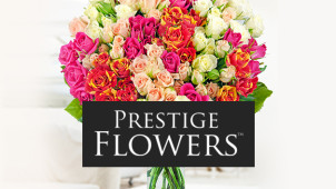 10% Off First Orders with Newsletter Sign-ups at Prestige Flowers