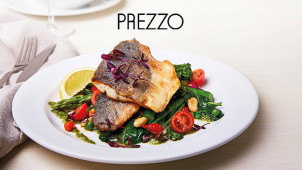 2 Courses £15 & 3 Courses £19 at Prezzo
