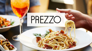 20% Off Food with a Kids Pass at Prezzo