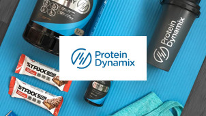 Extra 10% Off in the Sale Plus a Free Shaker at Protein Dynamix