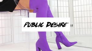 25% Off Boots in the Black Friday Event at Public Desire - Including Sale!